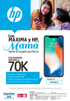 ¡Imperdible Promo Con Maxima Y Hp!