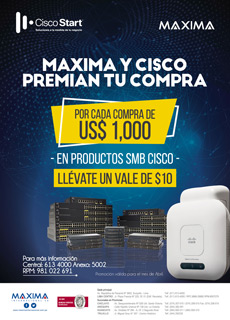 Maxima Y Cisco Premian Tus Compras