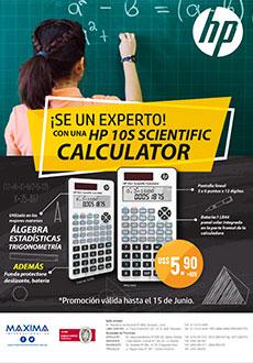 ¡Ya No Te Compliques! Llegó La Hp 10S Scientific Calculator Para Solucionarte Tus Problemas.
